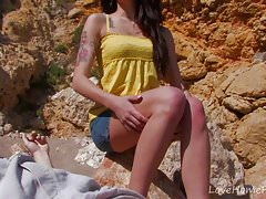 Tattooed Beauty Gets Naked For Outdoor Fuck.mp4