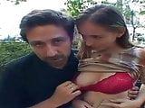 Alice aka Timea with Steve Holmes