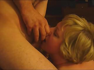 cucold,cum, suck,cums in her mouth,mom sucks son