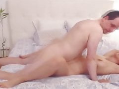 Blonde Get Fucked By A Old Man And Get A Good Facial