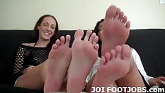 I will play with my feet right in your face