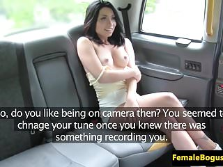 British cabbie les fingered and toesucked