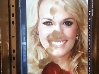 shot Carrie underwood cum