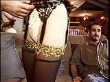 Sexy slut bends her juicy pussy over and fucked with thick cock