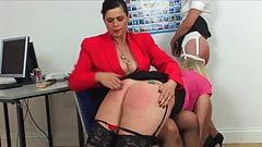 Two Punished in The Office
