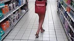 de compras sin bragas