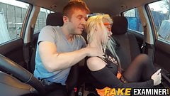 Busty MILF Barbie gets her wet cunt rammed in a test car