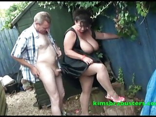 A spot of gardening for Granny Kim