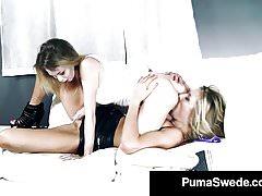 Nordic Amazon Puma Swede Does School Girl SpyCam Fucking!