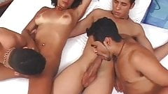 naugthy bi sex orgy