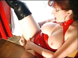 GINGER MILF SUCKS COCK AND GETS FUCKED
