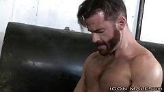 Straight Hairy Daddy Fucks Asian Muscle Behind Wifes Back