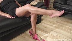 Mrs Taylor foot fetish video