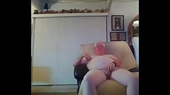 gandpa cum on webcam