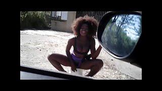 Italian Prostitutes flashing 7