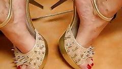 transx feet and spike heels