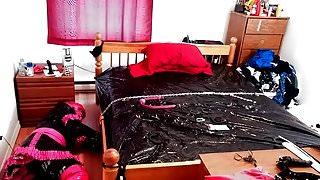 Sissys Bed Bondage