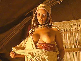 Amina Annabi Nude Boobs In The Sheltering Sky ScandalPlanet