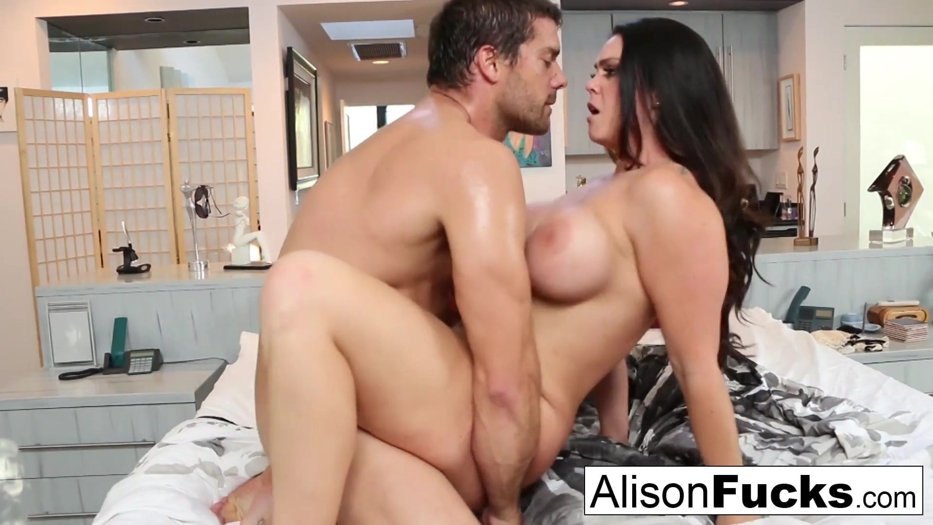 Allison Sex Video amazing rough fuck with alison tyler and a hung spanish stud