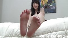 I need a man who loves sucking toes