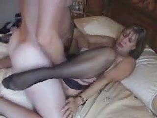 Big Titted British Milf Fucks And Gets Her Tits Creamed