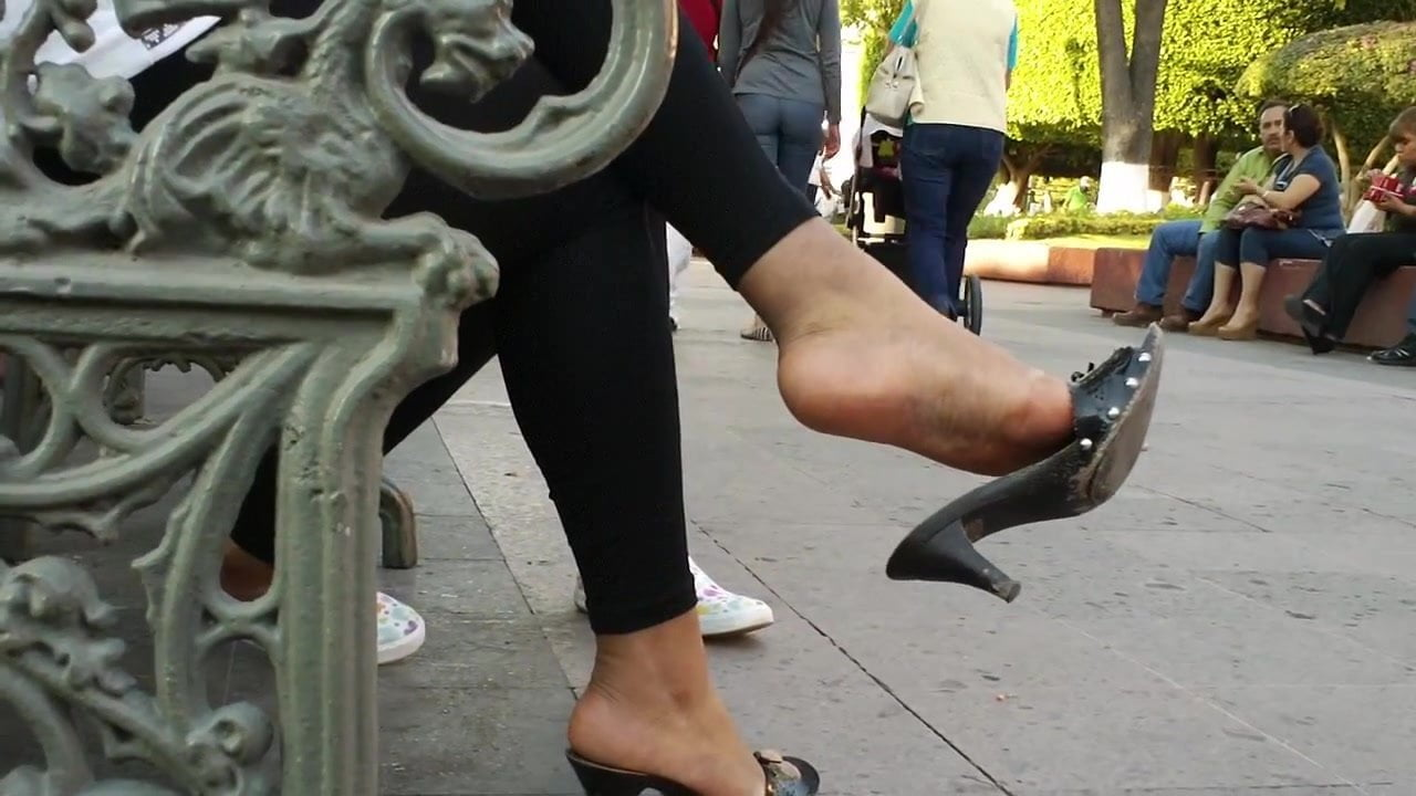 Candid feet 6