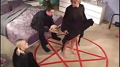 Satanic cult ends up being a hardcore boning session