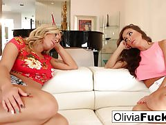 Olivia Austin and Abigail Mac fuck