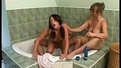 mother and teen girl fucked