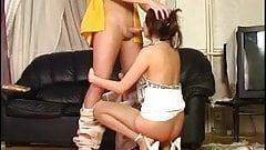 Sexy russian teen anal fuck
