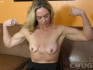 Mature Blonde MILF MAsturbates