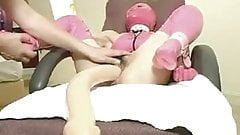 Fist and Huge Dildo