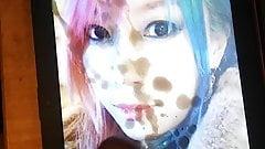 WWE Asuka Cumtribute 3