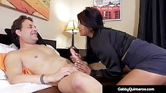 Mexican Milf Gabby Quinteros Bangs The Boss!