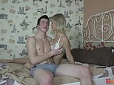 18 Videoz - In bed with a real teen slut