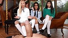 Apolonia, Darcia and Vinna - Best Foursome EVER!