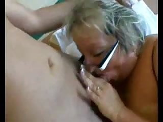 BBW Granny with big tits in Hard Anal
