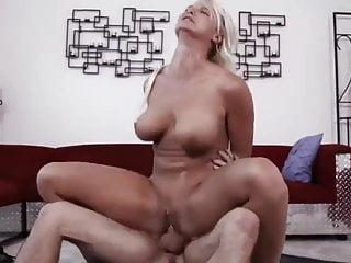 Son Fucks Yoga MILF