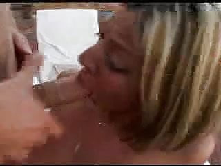 Raylin Begs For and Swallows A Wad Of Cum