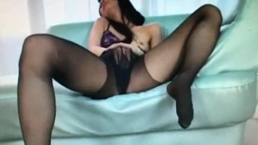 Japanese MILF Pantyhose Masturbation, HD Porn 31: