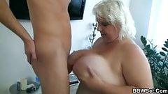 BBW slut getting fucked hard
