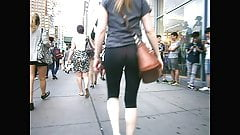 Compilation Of Voyeur Asses - NYC - Yoga and Jeans