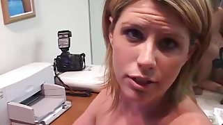 MILF Legend MILF Lisa Sparxxx Sucks Off Fan Live on Webcam