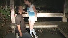 ass lickin at night