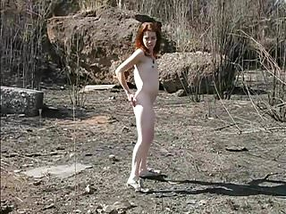 Sam First Naked Outdoor Videos