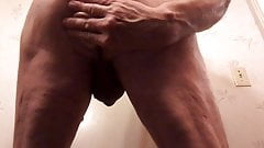 Cumming from behind