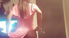 Ass dance tease