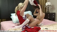 GirlfriendsFilms Teen Cheerleaders Lick Pussy