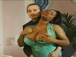 Gorgeous big tits ebony milf