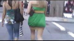 summer dressed asses